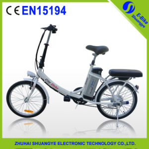 Manufacturer Direct Mini Folding Electric Bicycle with 36V Battery pictures & photos
