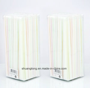 Individual Paper Wrapped Drinking Straw (70725) pictures & photos