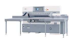 Hydraulic Computerized Paper Cutting Machine (QZ- TK130 CT) pictures & photos