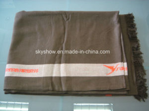 Custom Modacrylic Airline Blanket (SSB0173) pictures & photos