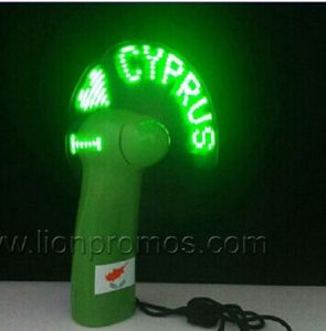 Logo EL Flashing Advertising Electric Fan pictures & photos
