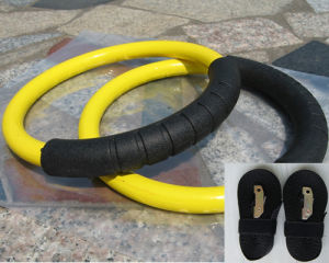 Crossfit Power Training Steel Gym Ring with Straps (PC-GR1005) pictures & photos