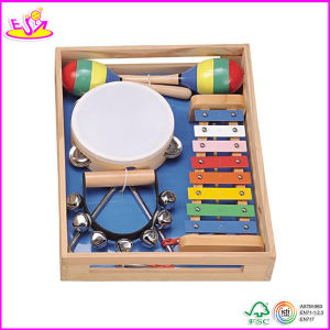 2014 New Wooden Toy Educational Xylophone, Popular Wooden Educational Xylophone Set W07A042 pictures & photos