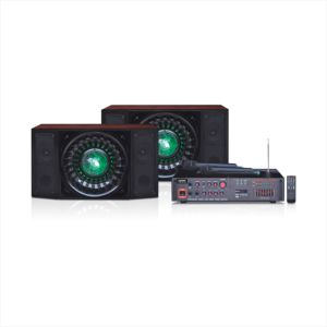2.1 Karaoke Home Speaker with Wireless Microphone 672t pictures & photos