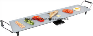 10-Person Party Grills/Griddles, with Nonstick/Ceramic Coated, Grill Surface 90.5X23.5cm pictures & photos