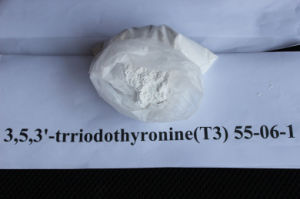 CAS 55-06-1 Capsule Medicine Organic Weight Loss Steroid Powders Lithyronine Sodium T3 pictures & photos