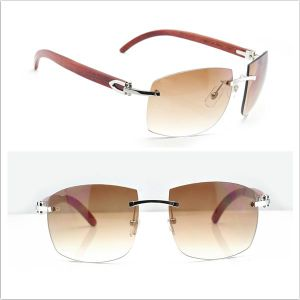 Wooden Rimless Sunglasses/ Wood Sunglasses pictures & photos