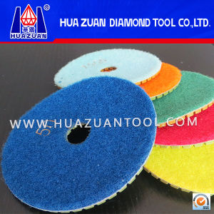 Diamond Flexible Polishing Pad for Granite Marble pictures & photos