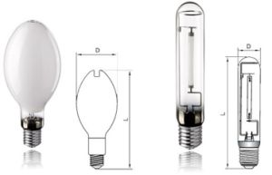Tubular and ED and Bt Sodium Lamp 50W to 1000W for Street Light with CE pictures & photos