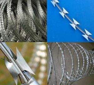 Made in China Razor Barbed Wire pictures & photos