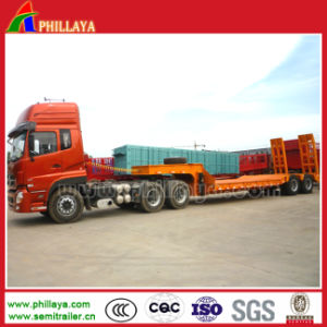 Directly Factory Hydraulic Low Bed Trailer pictures & photos