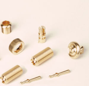 CNC Machining Customized Brass Auto machinery Products pictures & photos