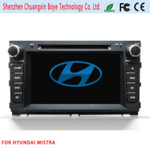 Car Video DVD Player with Bluetooth for Hyundai Mistra pictures & photos
