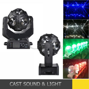 12PCS 10W Football Shape LED Beam Moving Head pictures & photos