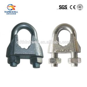 Electronic Galvanized Malleable DIN 741 Wire Rope Clip pictures & photos