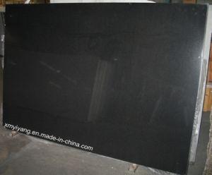 India Black Black Jet Granite Slabs Absolute Black pictures & photos