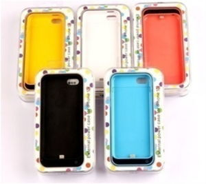 2200mAh External Battery Backup Charger Case for iPhone 5/5s/5c pictures & photos