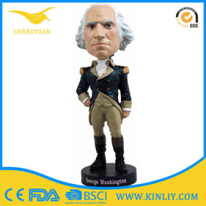 OEM Resin Figurine Deft Design Bobblehead Figurine for Home pictures & photos