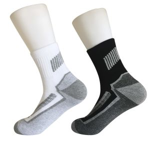 Half Cushion Poly Fashion Outdoor Sport Quarter Socks (JMPOD04) pictures & photos