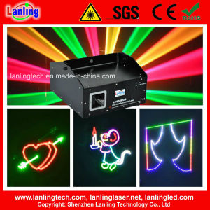(LV550RGB) 550MW Multi-Color RGB Projectordisco Animation Laser Projector pictures & photos