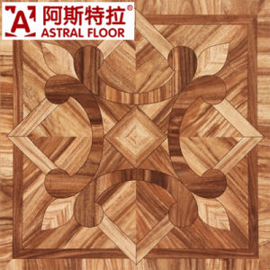 600mm Red 12mm Laminate Parquet Flooring/ (AS0016) pictures & photos