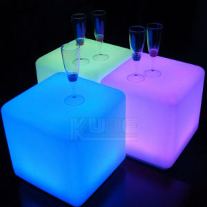 Floating Cubes Glow Visitor Chair Multi-Purpose Tables pictures & photos