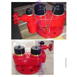 2-Way Breeching Inlet Landing Valve for Water System pictures & photos