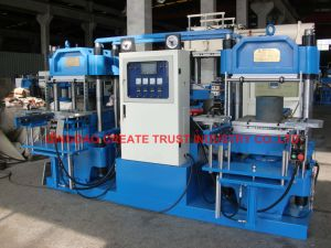 Hot Sale Full Automatic Rubber Moulding Press with Two Station pictures & photos
