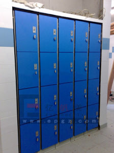 Solid Phenolic Gym Fitnessroom Stadium Locker pictures & photos