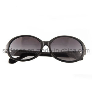 Fashionable Import Material Big Size Frame Acetate Sunglasses for Lady pictures & photos