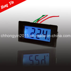 D69-20 LCD AC Voltage Digital Meter pictures & photos