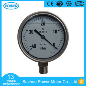 100mm Full Stainless Steel Pressure Gauge with Glycerin Oil pictures & photos