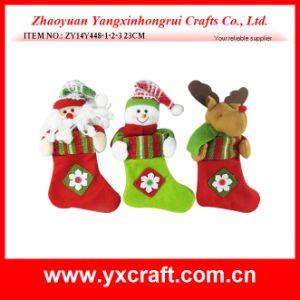 Christmas Decoration (ZY14Y448-1-2-3 23CM) Christmas Sock Dear Santa pictures & photos