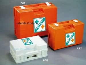 Strong ABS Storage Medical Wall Mounted Plastic Storage Box First Aid Kit (SL-060) pictures & photos