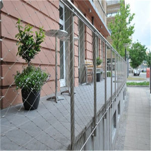 Stainless Steel Flexible Rope Mesh for Garden Mesh pictures & photos