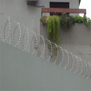 Flat Wrap Razor Wire Fence Topping System pictures & photos
