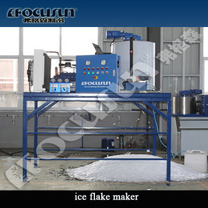 Customized Capacity Ice Flake Ice Making Machine pictures & photos