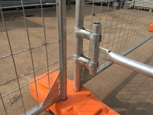 Fully 84 Microns Zinc Layer in Zinc Pools Hot Dipped Galvanized Temporary Fence pictures & photos