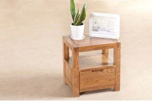 Solid Oak Wood Bedside Table with High Quality (M-X1157) pictures & photos