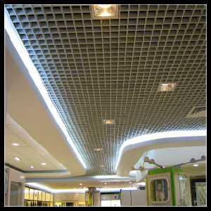 Aluminum Grille Ceiling Panel (TLD-09)