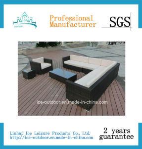 Garden Furniture Outdoor Furniture Rattan Sectional Sofa (FS-004e)