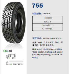 Annaite Brand New Radial Truck Tyre (12R22.5 295/80R22.5 315/80R22.5) pictures & photos