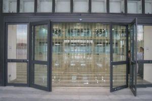 Automatic Aluminium+Glass Door Outside Door pictures & photos