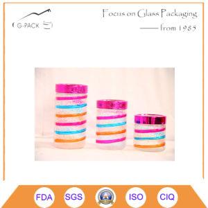 Color Decoration Glass Canister Set 3 Pieces pictures & photos
