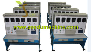Telephone Exchange Trainer Technical Teaching Equipment Didactic Equipment