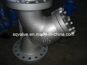 ANSI Carbon Steel Flange End in 150lb---1500lb Y Stainer