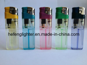 8.0cm Plastic Electronic Lighters Full Spare Parts