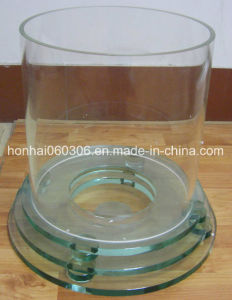 Clear Diameter 300mm Pyrex Fire Glass Tube pictures & photos