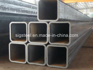 Black ERW Square Tube and Galvanized Square Tube pictures & photos