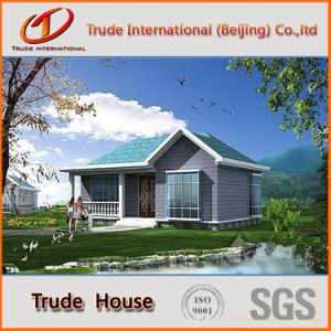 Color Steel Sandwich Panels Mobile/Modular/Prefab/Prefabricated Steel Comfortable Living Villa pictures & photos